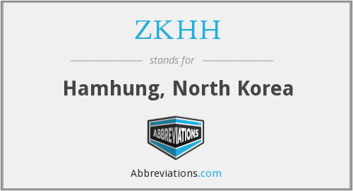 What does ZKHH stand for?