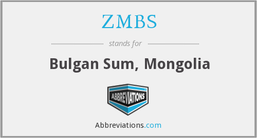 What does ZMBS stand for?