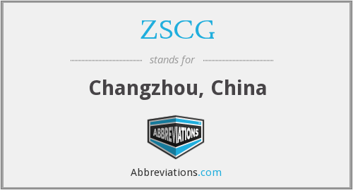 ZSCG - Changzhou, China