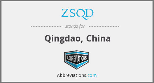 ZSQD - Qingdao, China