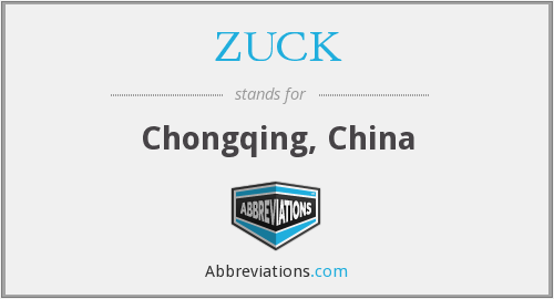 ZUCK - Chongqing, China