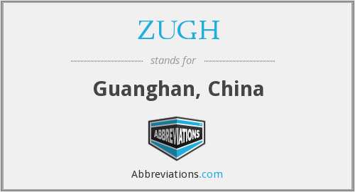 What does ZUGH stand for?