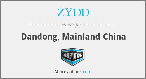 ZYDD - Dandong, Mainland China