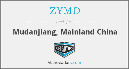 ZYMD - Mudanjiang, Mainland China