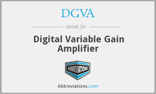 DGVA - Digital Variable Gain Amplifier