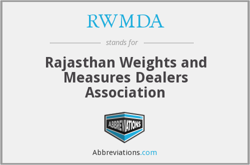 What does RWMDA stand for?
