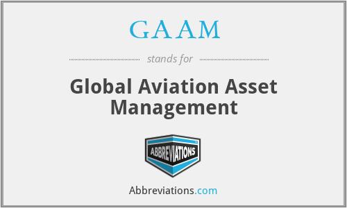GAAM - Global Aviation Asset Management
