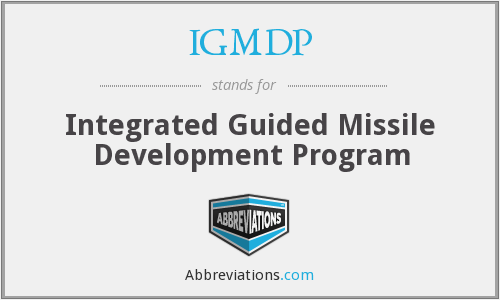 IGMDP - Integrated Guided Missile Development Program