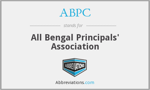 ABPC - All Bengal Principals' Association