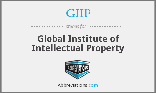 GIIP - Global Institute of Intellectual Property
