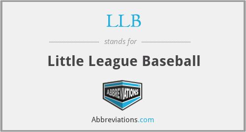 LLB - Little League Baseball