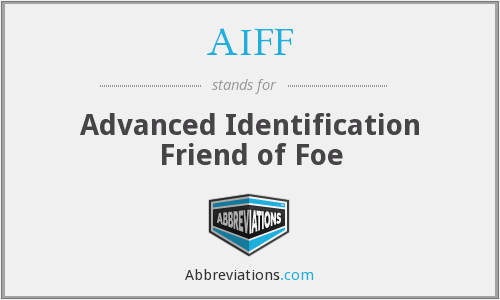 AIFF - Advanced Identification Friend of Foe