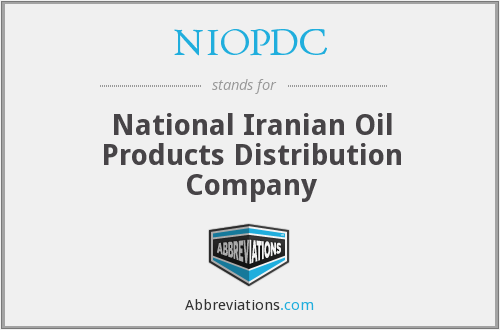 What does NIOPDC stand for?