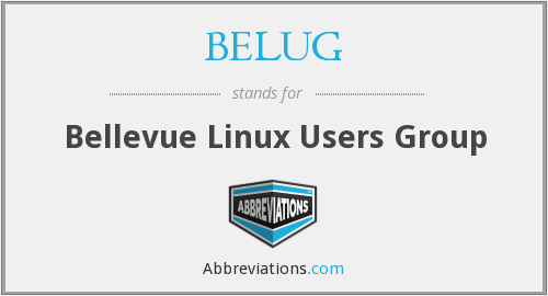 What does BELUG stand for?