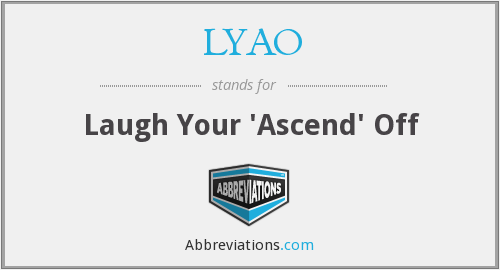 What does LYAO stand for?