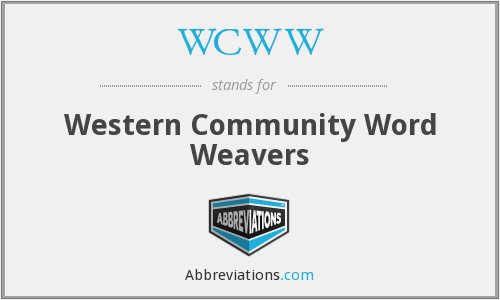 WCWW - Western Community Word Weavers