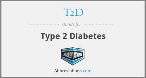 T2D - Type 2 Diabetes