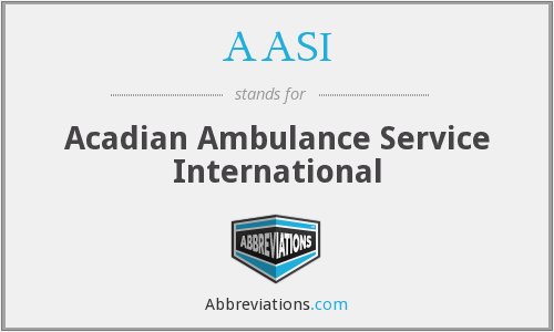 AASI - Acadian Ambulance Service International