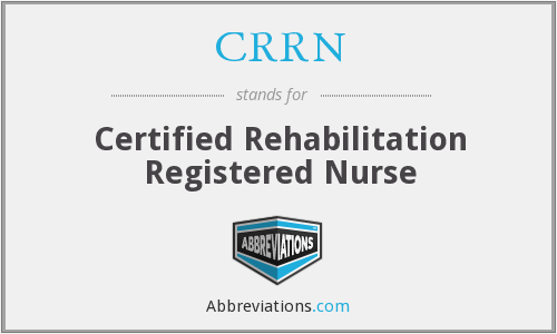 What does CRRN stand for?