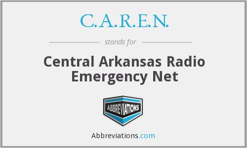 C.A.R.E.N. - Central Arkansas Radio Emergency Net