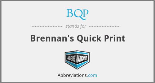 BQP - Brennan's Quick Print