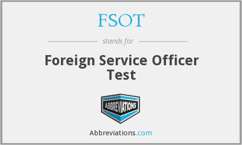 FSOT - Foreign Service Officer Test