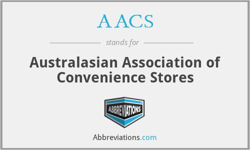 AACS - Australasian Association of Convenience Stores