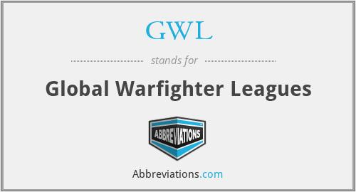 GWL - Global Warfighter Leagues