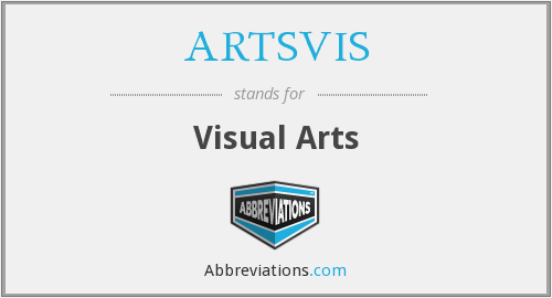 What does ARTSVIS stand for?