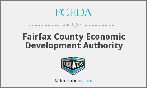 FCEDA - Fairfax County Economic Development Authority