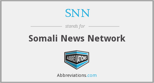SNN - Somali News Network
