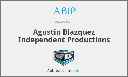 ABIP - Agustin Blazquez Independent Productions