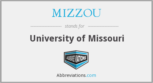 What does MIZZOU stand for?