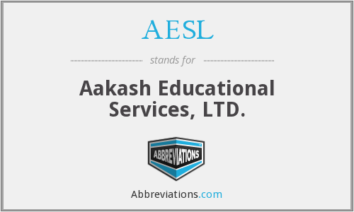 AESL - Aakash Educational Services, LTD.
