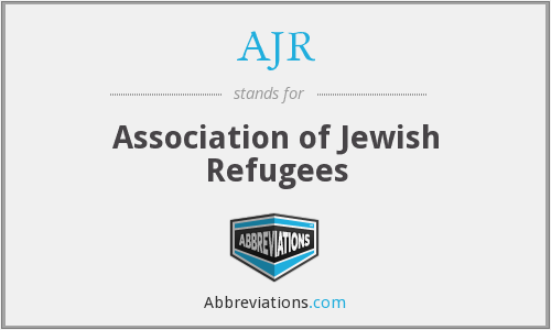 AJR - Association of Jewish Refugees