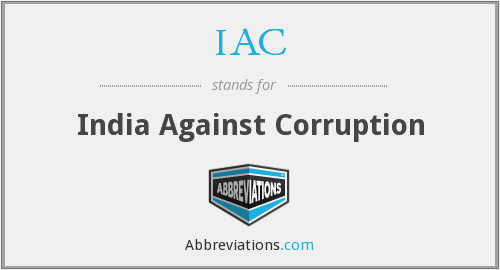IAC - India Against Corruption