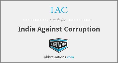 IAC - India Against Corruption