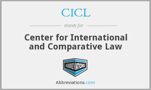 CICL - Center for International and Comparative Law