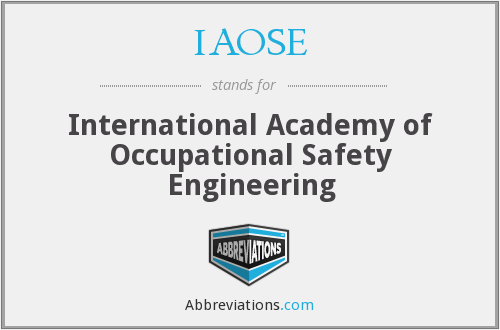 What does IAOSE stand for?