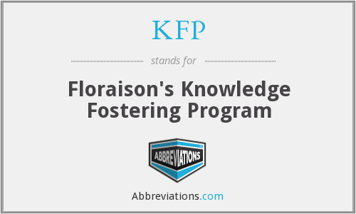 KFP - Floraison's Knowledge Fostering Program