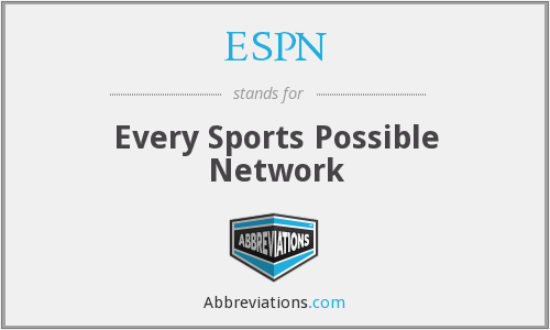 ESPN - Every Sports Possible Network