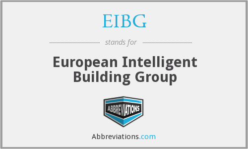 What does EIBG stand for?