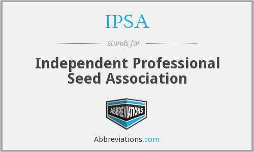 IPSA - Independent Professional Seed Association
