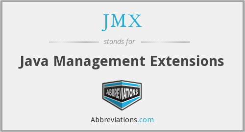 JMX - Java Management Extensions