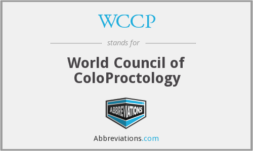 WCCP - World Council of ColoProctology