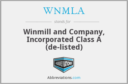 What does WNMLA stand for?