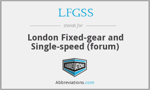 What does LFGSS stand for?