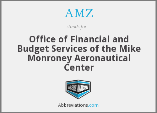 AMZ - Office of Financial and Budget Services of the Mike Monroney Aeronautical Center