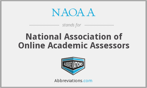 What does NAOAA stand for?