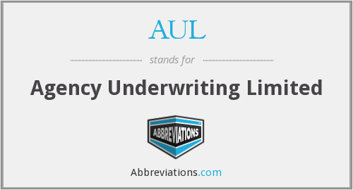 AUL - Agency Underwriting Limited